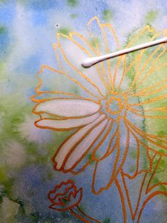 watercolor: what to paint after the background | The Painted Prism: WATERCOLOR WORKSHOP: Painting Phlox on Aquabord