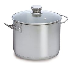 Baccarat Entree 28cm 12 Litre Stainless Steel Stockpot with Glass Lid 1006826,    #Baccarat,    #1006826,    #Saucepans