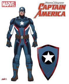 Steve Rogers to Return as Captain America in New Series - Comic Vine