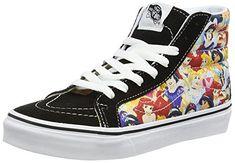 Vans Disney, Disney Men, Vans Sk8 Hi Slim, Buy Vans, Princesses, Sneakers Fashion, High Top Sneakers, Unisex, Amazon
