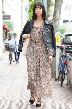 Saki | ZARA  moussy MURUA | 5th week  May. 2016 | Shibuya | Tokyo Street Style | TOKYO STREET FASHION NEWS | style-arena.jp
