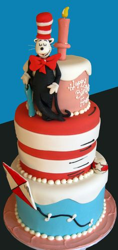 dr seuss baby shower | Baby Showers and First Birthdays | Blog.OakleafCakes.com Boston