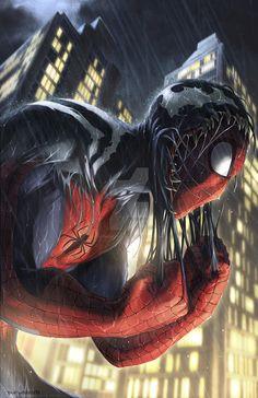 SPIDER-MAN by totmoartsstudio2