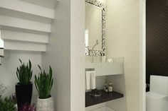 Home Design Plan Meters - Modern Architecture House Styles, Modern House Facades, Modern, House Front Design, Home Design Plan, Home Design Plans, How To Plan, House Front, Modern House