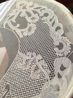 Loin embroidery (embroidery on the grid, tulle)