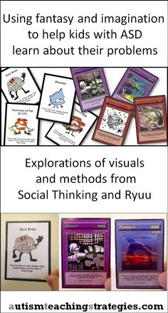 Social Thinking Unthinkables and Ryuu Dragon cards are fun and useful for social skills work. Repinned by SOS Inc. Resources pinterest.com/sostherapy/.