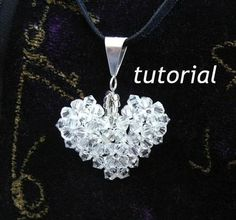 Looking for jewelry project inspiration? Check out Tutorial  Crystal Heart Pendant by member picadilly. - via @Craftsy