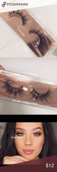 Flutter LONG ✨ Mink Lashes 3D eyeLASHES lilly new ❤ READ,  before purchasing ❤  LashAddict / Kim ❤️  Brand New  Flutter Long Mink Lashes  •100% Real Mink Fur Strip Lashes •High Quality Lashes •Will last up to 25 applications, handle with care. •All pictures are mine •Cotton Band  No glue  ~ All orders placed after 3PM (EST) time will be shipped out the next day. All orders are processed within 1 business day. Exception on Sundays ~ Makeup False Eyelashes