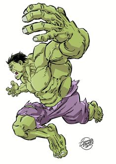 ) By: Geraldo Borges Marvel Avengers Assemble, Marvel E Dc, Marvel Comics Art, Marvel Heroes, Avengers Poster, Hulk Avengers, Hulk Marvel, Comic Books Art, Comic Art