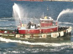 Tug boats for aircraft carriers!