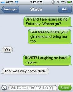 Funniest autocorrect I've seen in a while...