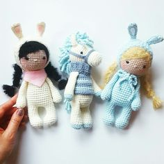 Amalou.Designs Amigurumi Crochet Pattern Pony Bunny Easter Eastergift
