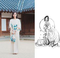 ИССЛЕДУЯ СТИЛИ: Вдохновляющие фэшн- этюды Нэнси Чанг