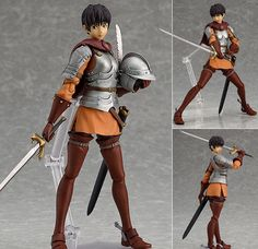 Figma 210 Casca Berserk the Movie Anime Action Figure Max Factory Japan