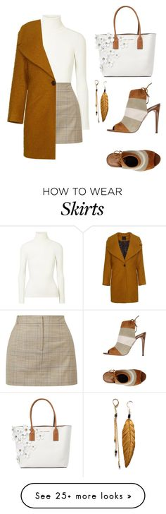 """Untitled #559"" by rnuhiji on Polyvore featuring Aquazzura, JoosTricot, TIBI and Marc Jacobs"