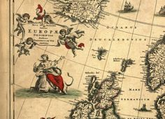 Map by Fredericus de Wit with Europa personification - Symbols of Europe - Wikipedia, the free encyclopedia