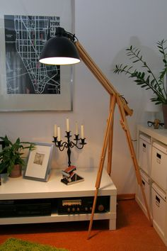 Staffelei Lampe Bauhaus von drhl33 auf DaWanda.com