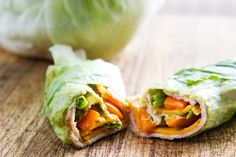 #Diet Lunches: Lettuce Wraps