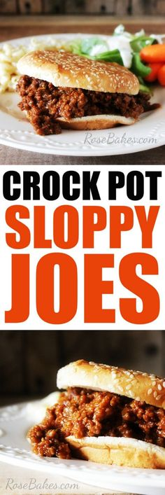 Easy Crock Pot Slopp