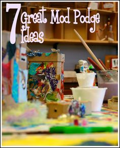 Mod Podge is kind of like the holy grail of the craft world. So many projects have been made possible since its invention, turning the average crafter into a skilled artisan! Here are just a few of...