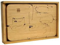 enzo mari animal jigsaw