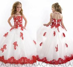 Wholesale New Arrival 2015 little Kids Outstanding Lace Beaded crystal Organza Toddler Beauty Pageant Dress Flower Girl Dresses, Free shipping, $74.46/Piece | DHgate Mobile