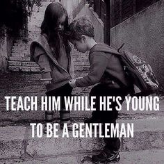 We need more gentlemen...YES!!!!