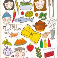 Ilustraciones - Portafolio de Catherine del Pino