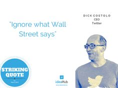 Ignore what Wall Street says