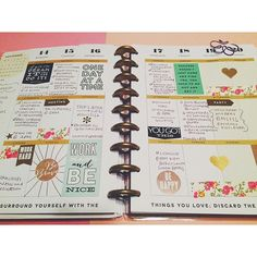 """Last week  #thehappyplanner #meandmybigideas #planneraddict #organizedlife"" Photo taken by @holleianne on Instagram, pinned via the InstaPin iOS App! http://www.instapinapp.com (09/22/2015)"