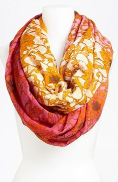 Great colors!!! These are perfect for summer into fall transition. Lulla Collection by Bindya 'Lace' Infinity Scarf available at #Nordstrom