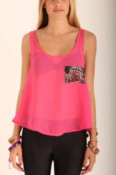 Camisa Rosa Gasa Rosa!