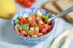 Kichererbsen-Tomaten-Salat