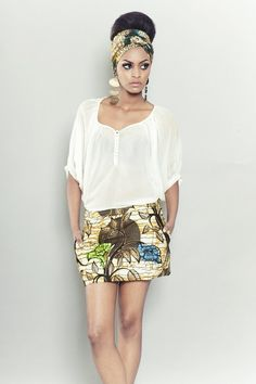 Ghanaian label Sika designs has recently released their new S/S 2012 collection named Labyrinth. Not bad, not bad at all ...