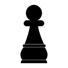 Chess Piece - Pawn Stencil