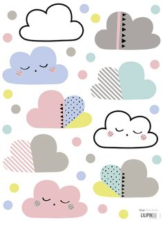 print & pattern: WALL DECALS - new at lilipinso