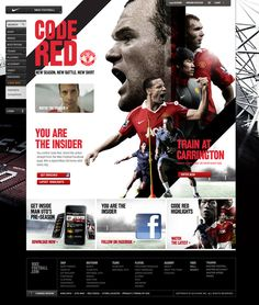 Code Red on Behance