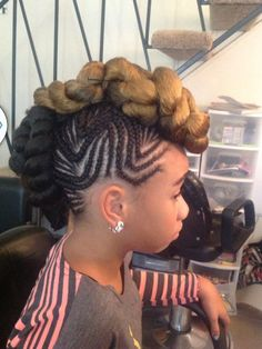 Braided Mohawk Hairstyles 12 Braided Mohawk Hairstyles That Get Attention  Pinterest