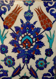 Iznik Tile, Rustem Pasha Mosque, Istanbul by ~caner, via Flickr