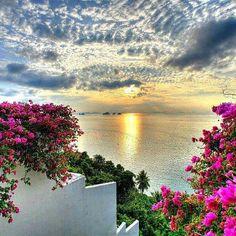 Sunrise in Greece