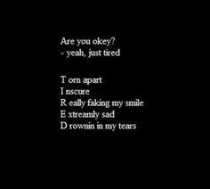 hmmm kinda depressing