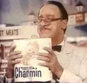 """Mr. Whipple """"Don't squeeze the Charmin!"""" ~ 80's Commercial."""