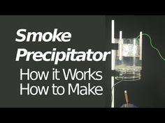 Electrostatic Precipitator/Smoke Precipitator - How it Works/How to Make