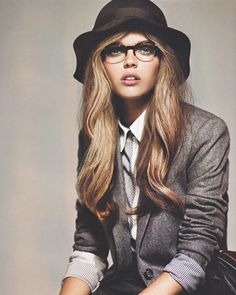 FYeah Women in Suits | #blazers #hats