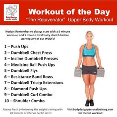 This workout has a tab too much chest and not enough back There isn't a traditional military press in there. Like the push-ups but not quite soo many. This would be impossible for a beginner- regardless of weight being lifted. Shoulder Workout, Shoulder Exercises, Military Workout, Body Stretches, Medicine Ball, Keep Fit, Health Fitness, Fitness Tips