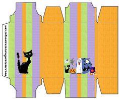Halloween – Kit Completo com molduras para convites, rótulos para guloseimas, lembrancinhas e imagens! | Fazendo a Nossa Festa