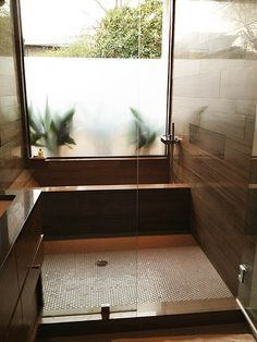walk through the shower to get to the tub? Bathroom tub ideas