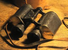 """Zeiss Feldstecher 12X serial number """"9821"""" Year 1897. After the old soft black paint been washed off"""
