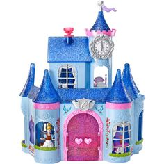 Disney Princess Cinderella Fairytale Castle Play Set - We have it and we LOVE it! Hours of fun for a little girl #DisneyPrincessWMT