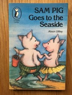 Sam Pig Goes to the Seaside - Uttley, Alison  Puffin, First impression of this Puffin paperback edition from 1978 in near fine condition, please see pics, PayPal accepted, any questions please get in touch.